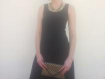 Falda (agotada, disponible en teja, antes 69,90€ --> ahora 48,93€) Camiseta (antes 9€ --> ahora 8,1€) Collar (agotado) Cartera (agotada). Look completo: http://goo.gl/S8E8LY