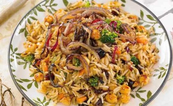 arroz-masala-verduras-garbanzos