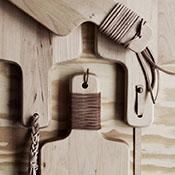 Tablas de madera que parecen artesanas: http://goo.gl/kBsYU4