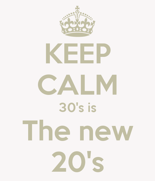 keep-calm-30s-is-the-new-20s