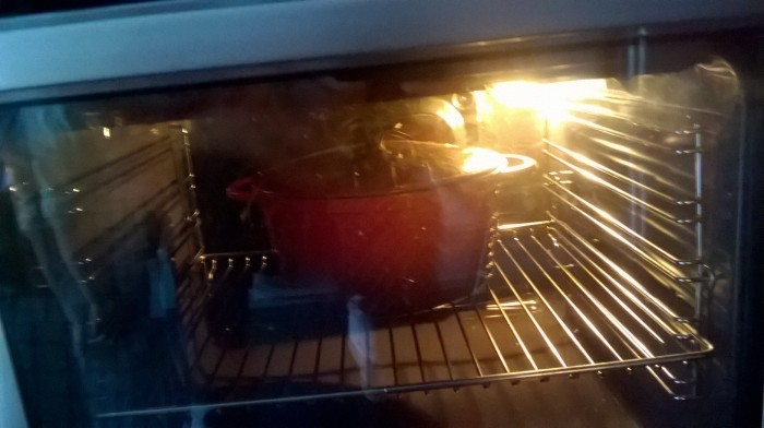 cocotte al horno