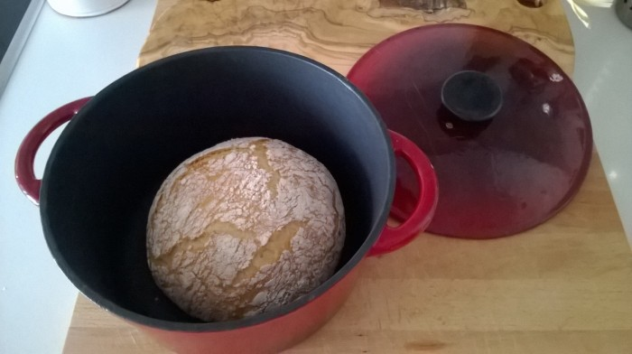 Receta de pan en cocotte