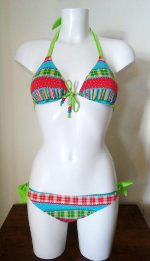 Bikini Gisela Patchwork. Talla 40. Precio rebajas: 26,95€